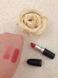 Mac Lipstick Fanfare- Review