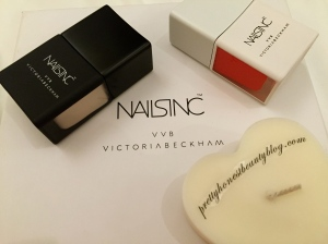 Nails Inc Victoria Beckham Bamboo White