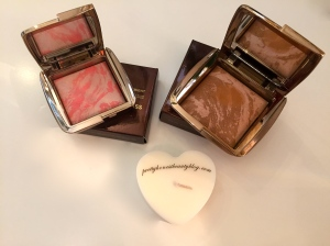 Hourglass Ambient Bronzer Luminous Bronze Light and  Incandescent Electra Blusher review