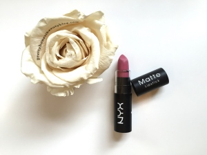 NYX Matte Lipstick Tea Rose Review