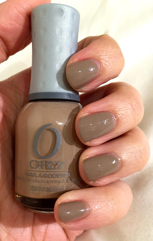 Orly Country Club Khaki Nail Polish | Review | prettyhonestbeautyblog