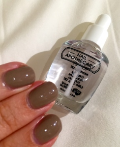 Nail Apothecary Gel Effect Top Coat Review