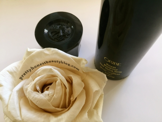 How to get a royal blowdry Oribe Royal Blowout Heat Styling Spray Review