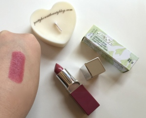 Clinique Pop Plum Pop 14 Lipstick Review Swatch