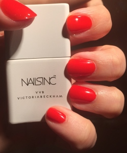 Victoria Beckham Nails Inc Judo Red Review and Swatch