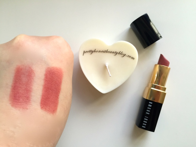 Bobbi Brown Blondie Pink 64 Lipstick Review Swatch Pippa Middleton Royal Wedding Kate Middleton