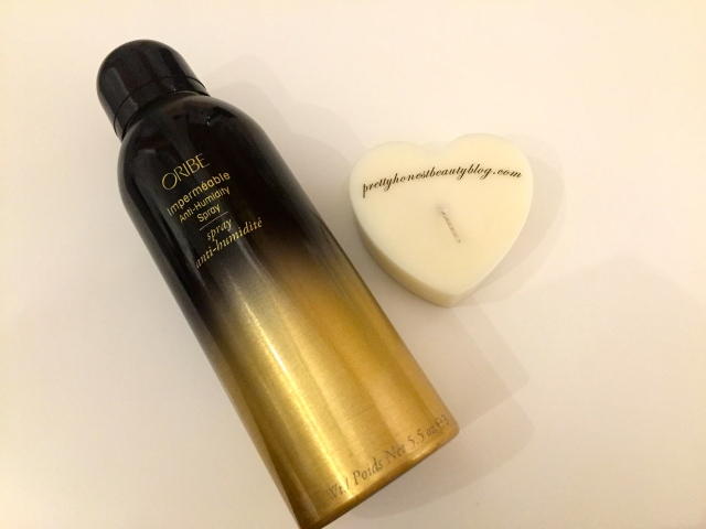 Product of the Month Oribe Impermeable Anti-Humidity Spray Review
