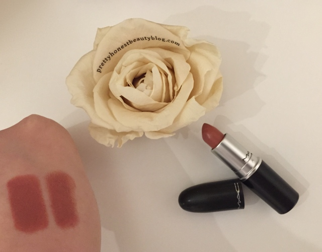 MAC Velvet Teddy Lipstick Review Swatch