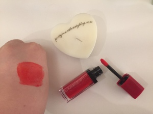 Bourjois Rouge Velvet Hot Pepper Lipstick Review and Swatch