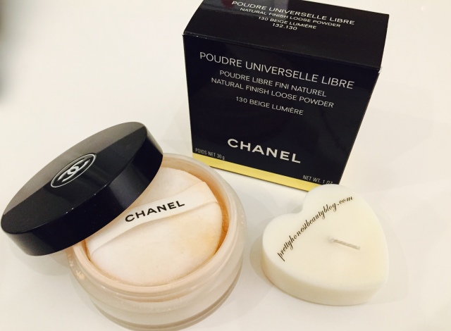 How to set foundation Chanel Natural Finish Loose Powder 130 Beige Lumiere