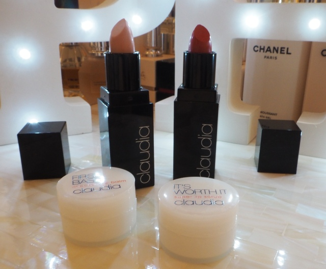 Claudia Winkleman Lets Go Lip Set Thank You Wendy Lipstick Do Me Red Lipstick Marks and Spencer Review Swatch First Base Lip Balm Its Worth it Lip Scrub