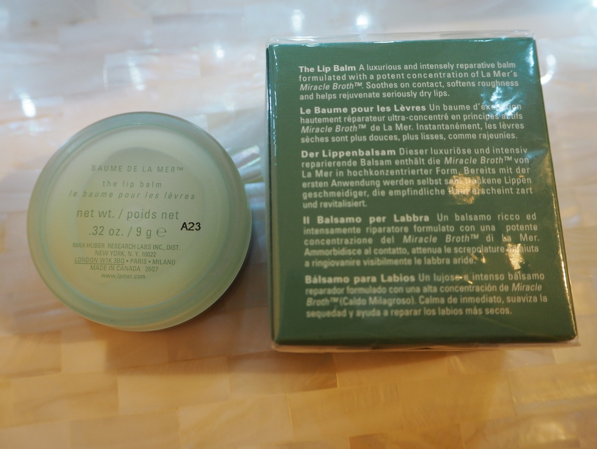Creme De La Mer The Lip Balm Review