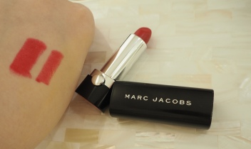 Harrods Marc Jacobs Lip Créme Le Marc Charlotte Lipstick review swatch Princess Charlotte
