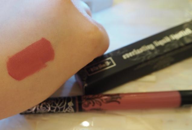Kat Von D Everlasting Liquid Lipstick Lovesick Review Swatch