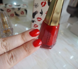MAC Charlotte Olympia Studio Nail Lacquer To have or have not Lipstick Leading Lady Red review swatch