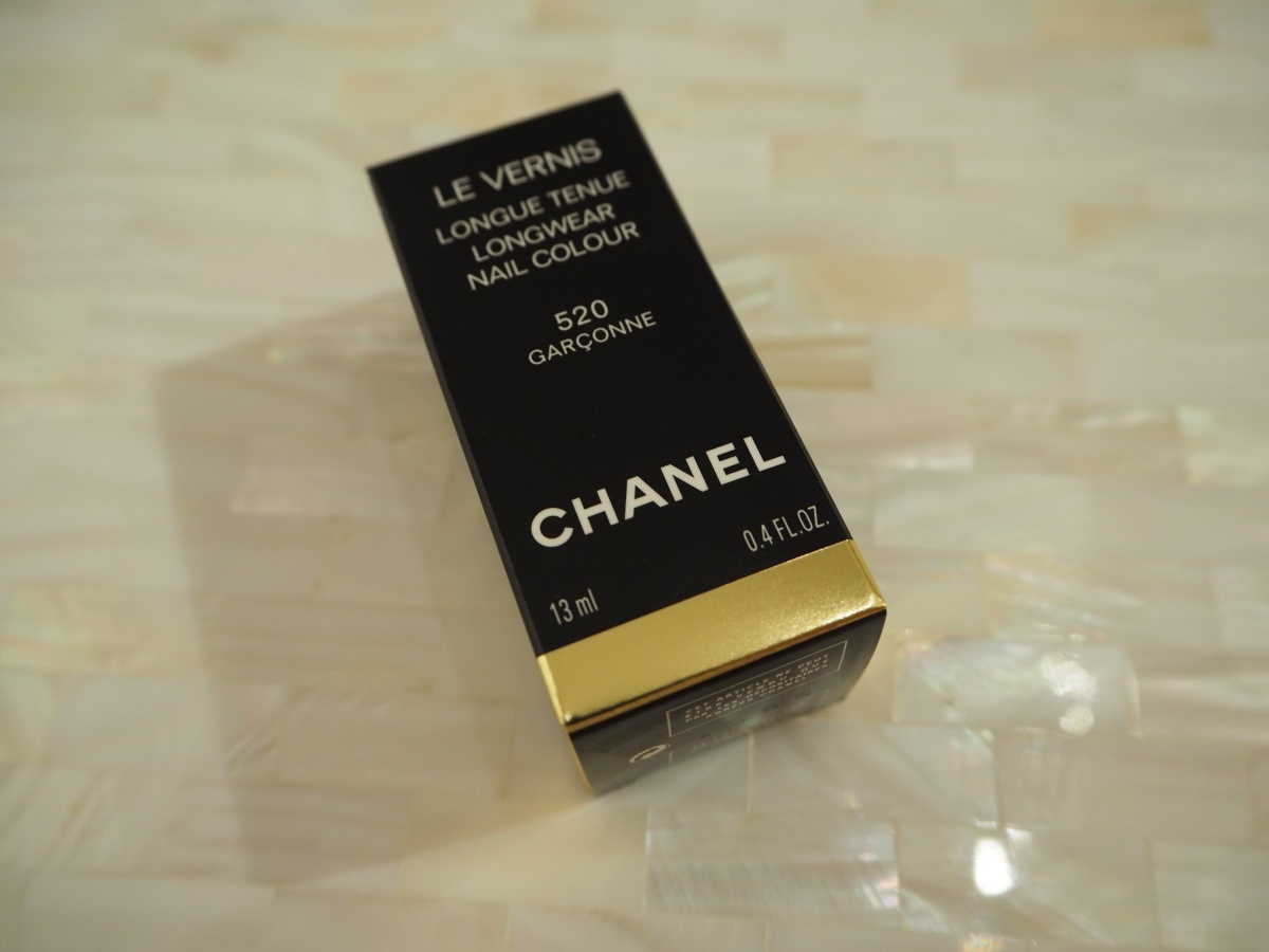 Chanel Le Vernis Garconne Nail Polish Review & Swatch