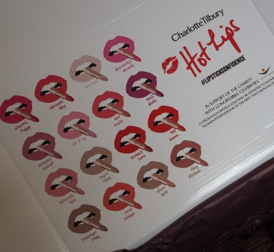 The Complete Charlotte Tilbury Hot Lips Lipstick Collection